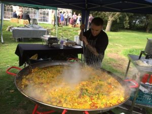 Cost of a wedding street food
