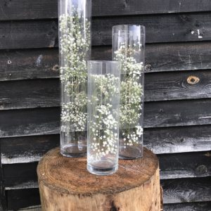 cylinder-vases-hire-wild-wedding-Hampshire-west-Sussex