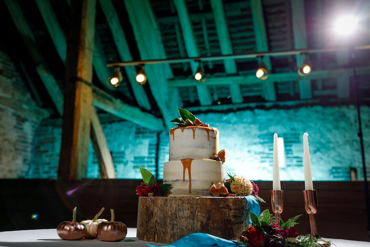 Photo shoot coordinated by wedding planners, Wild Wedding Company at Titchfield Barn, Hampshire.