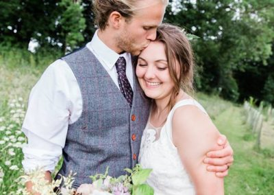 Emma and Zac - Hampshire Tipi Wedding Planner