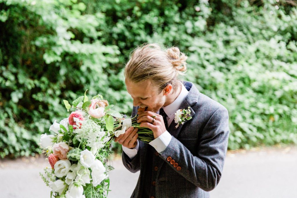 wedding planning hampshire alternative vegetable wedding bouquet