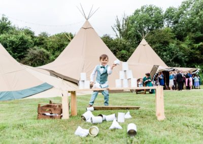 Hampshire Tipi wedding planner, outdoor games
