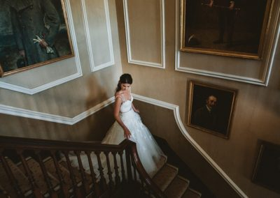 bride-staircase-marquee-wedding-planner-Sherbourne
