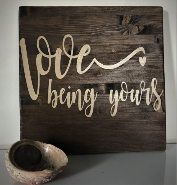 love-being-yours-wooden-sign-hire-buy-wild-wedding-company-hampshire-west-sussex